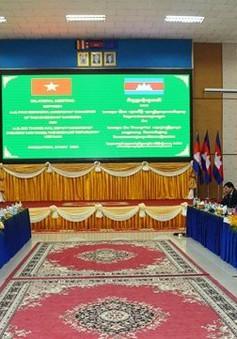 Việt Nam - Campuchia thúc đẩy thương mại biên giới
