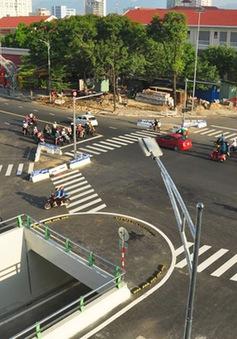 Đà Nẵng: Tổ chức phân luồng nút giao thông phía Tây cầu Sông Hàn