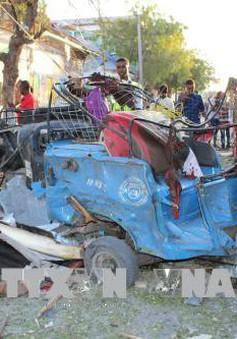 Nổ tại Somalia, hàng chục người thương vong