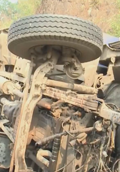 Tai nạn liên hoàn khiến 4 người thương vong ở dốc Cun, Hòa Bình