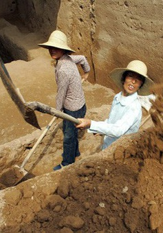 Các nhà khảo cổ Trung Quốc đã phát hiện 90 ngôi mộ triều đại Đông Hán