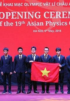 Đoàn Việt Nam giành 4 HCV tại Olympic Vật lý châu Á
