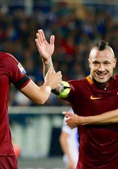 AS Roma hưởng lợi từ thất bại của Inter Milan