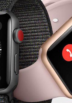 Apple mở bán Watch Serie 3 với kết nối LTE ở một số thị trường mới