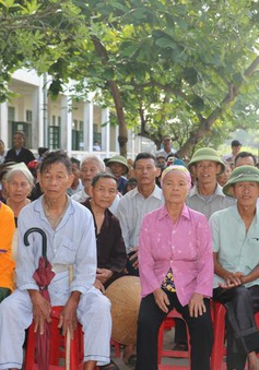 Hà Tĩnh: Khám bệnh, cấp thuốc miễn phí cho 500 người nghèo