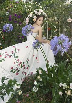 Hương Ly Next Top Model hóa công chúa diễm lệ trong bộ ảnh mới