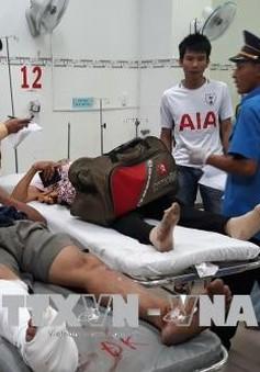 Ninh Thuận: Thăm hỏi, hỗ trợ nạn nhân trong vụ tai nạn giao thông nghiêm trọng trên Quốc lộ 1A