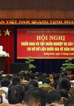 Quảng Nam triển khai xây dựng cơ sở dữ liệu quốc gia về dân cư