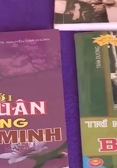 Không gian sách về Chủ tịch Hồ Chí Minh