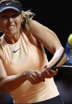 Maria Sharapova ngược dòng vào vòng 3 Rome mở rộng 2018