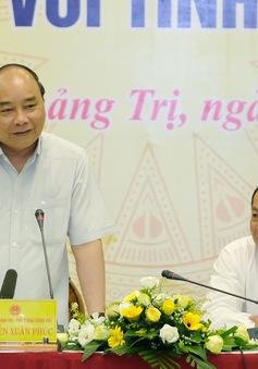 Thủ tướng làm việc với tỉnh Quảng Trị