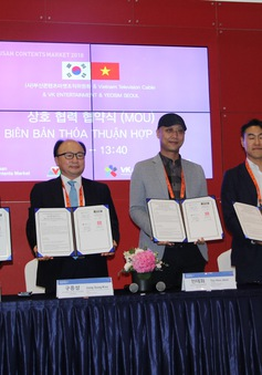 VTVcab hợp tác phát triển thương mại điện tử với các đối tác Hàn Quốc