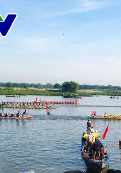 Khai mạc Giải đua thuyền phát thanh - truyền hình tỉnh Quảng Nam lần thứ 21