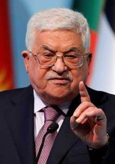 Tổng thống Palestine bác bỏ kế hoạch của Mỹ về tiến trình hòa bình Trung Đông