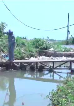 Hệ thống đập tự chảy Thủy nông Đồng Cam (Phú Yên) bị xâm lấn nghiêm trọng