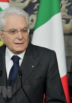 Tổng thống Italy bác bỏ khả năng bầu cử trước thời hạn