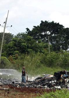 Tìm thấy hộp đen máy bay rơi ở Cuba