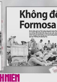 """""""Không để xảy ra Formosa thứ 2"""""""