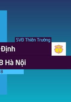 VIDEO: Tổng hợp trận đấu CLB Nam Định 0-2 CLB Hà Nội