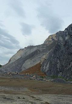 Yêu cầu đình chỉ hoạt động khai thác đá mất an toàn tại Hòa Bình
