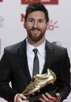 """Messi vượt mặt Ronaldo với """"Chiếc giày vàng"""" châu Âu lần thứ 5"""