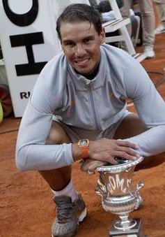 Bảng xếp hạng ATP: Nadal trở lại ngôi đầu, Hoàng Nam tăng 3 bậc