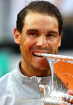 Vô địch Rome mở rộng 2018, Nadal đòi lại ngôi số 1 thế giới