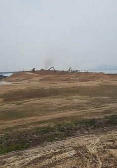 Xử lý nghiêm vi phạm khai thác cát tại lòng hồ Dầu Tiếng