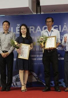 """Đài THVN giành giải Nhì tại cuộc thi """"Những sự kiện thiên tai cực đoan tại Việt Nam: Bài học quá khứ và hành động tương lai"""""""