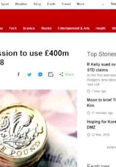 Chính phủ Anh yêu cầu mở quỹ từ thiện 90 năm tuổi để trả nợ công