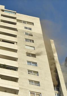 Cháy chung cư Fodacon Bắc Hà, Hà Đông, người dân hoảng loạn