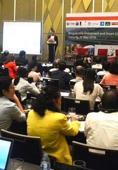 """Hội thảo """"Đầu tư có trách nhiệm và phát triển đô thị thông minh"""""""