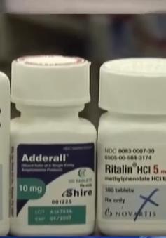 Mỹ: Cảnh báo trẻ dùng thuốc trị tăng động tăng cao