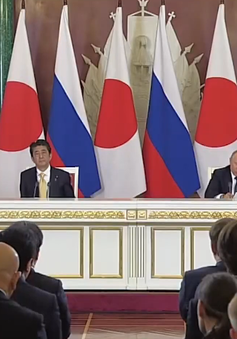 Nga, Nhật Bản đặt mục tiêu hoàn tất hiệp ước hòa bình