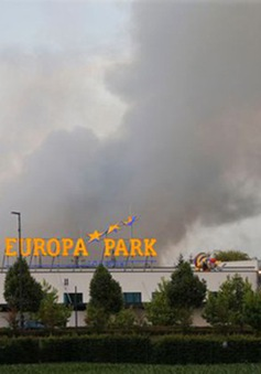 Cháy khu vui chơi lớn nhất nước Đức