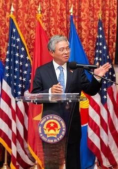 Đại sứ Việt Nam tại Hoa Kỳ tiếp tân đối ngoại chuẩn bị kết thúc nhiệm kỳ