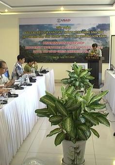 Hội thảo đánh giá mức độ đa dạng sinh học các khu bảo tồn ở Quảng Nam
