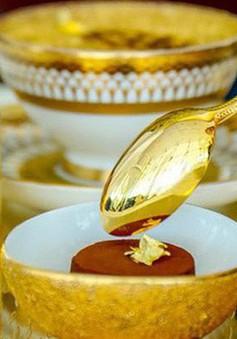 Khám phá nhà hàng chuyên dùng vàng để trang trí món ăn tại Dubai