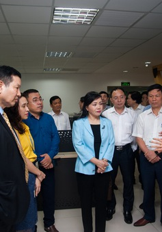 """Bộ trưởng Nguyễn Thị Kim Tiến nhấn mạnh các """"giải pháp thông minh"""" ngành y tế"""