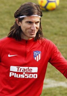 Filipe Luis trở lại tập luyện cùng Atletico Madrid