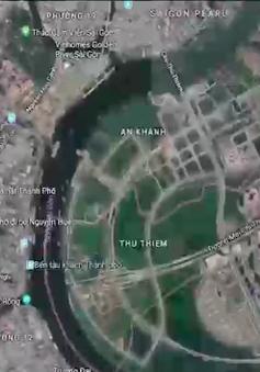 Bản đồ quy hoạch khu đô thị mới Thủ Thiêm thất lạc: Mất chìa khóa giải quyết khiếu nại?