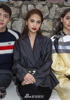Thành viên EXO được Vogue bình chọn là nam thần tại Louis Vuitton show