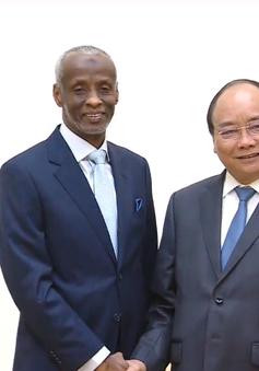 Thủ tướng Nguyễn Xuân Phúc tiếp Đại sứ Sudan