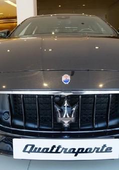 Ngắm Maserati Quattroporte GranSport GTS Nerissimo cực hiếm