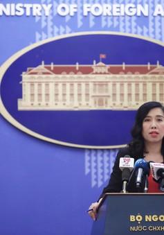 Phản ứng của Việt Nam về việc Trung Quốc diễn tập bắn đạn thật tại Hoàng Sa