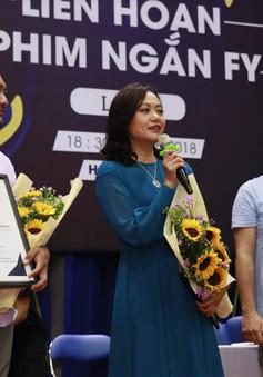 Hồng Ánh làm giám khảo Liên hoan phim ngắn FY mùa 2