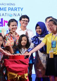 Liên hoan thiếu nhi quốc tế VTV 2018 chính thức khai màn với tiệc chào mừng nhiều màu sắc