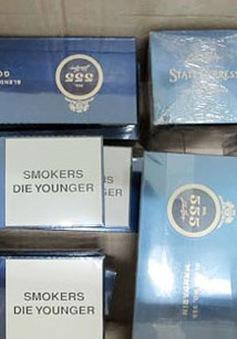 Liên tiếp bắt giữ hàng vạn bao thuốc lá ngoại nhập lậu tại Quảng Ninh