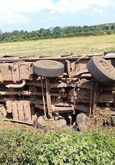 Va chạm xe tải, xe máy bốc cháy dữ dội, một người tử vong