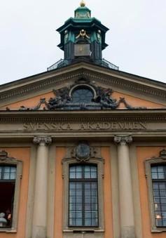 Hoãn trao giải Nobel Văn học 2018 vì bê bối tình dục